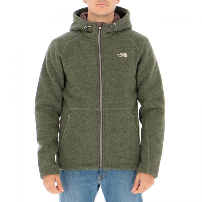 the north face felpe leaf clover