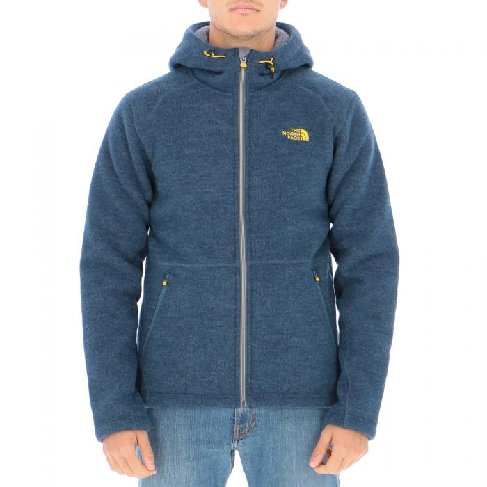 the north face felpe shady blue
