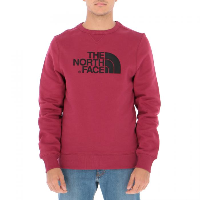 the north face felpe rumba red