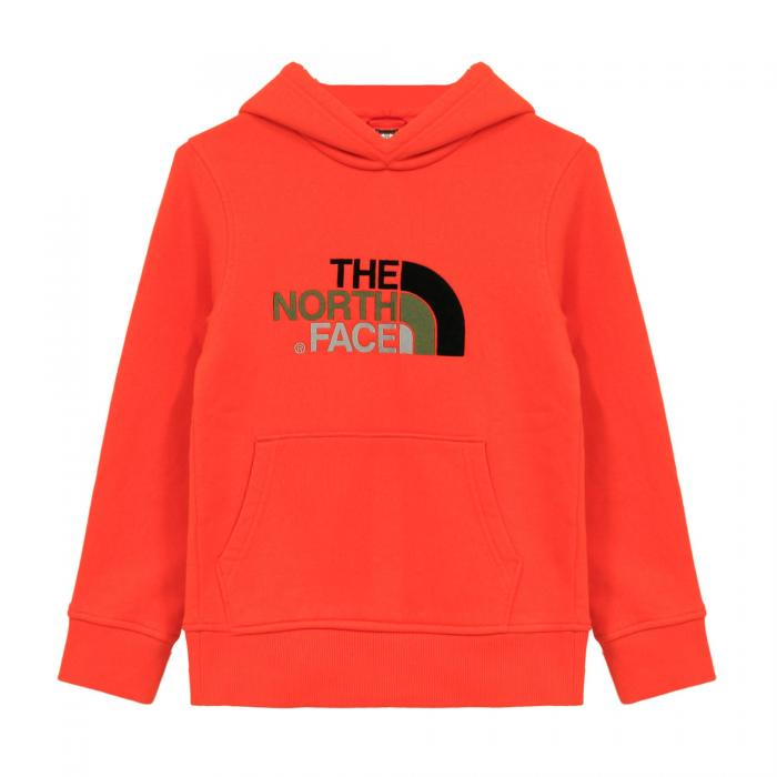 the north face felpe persian orange