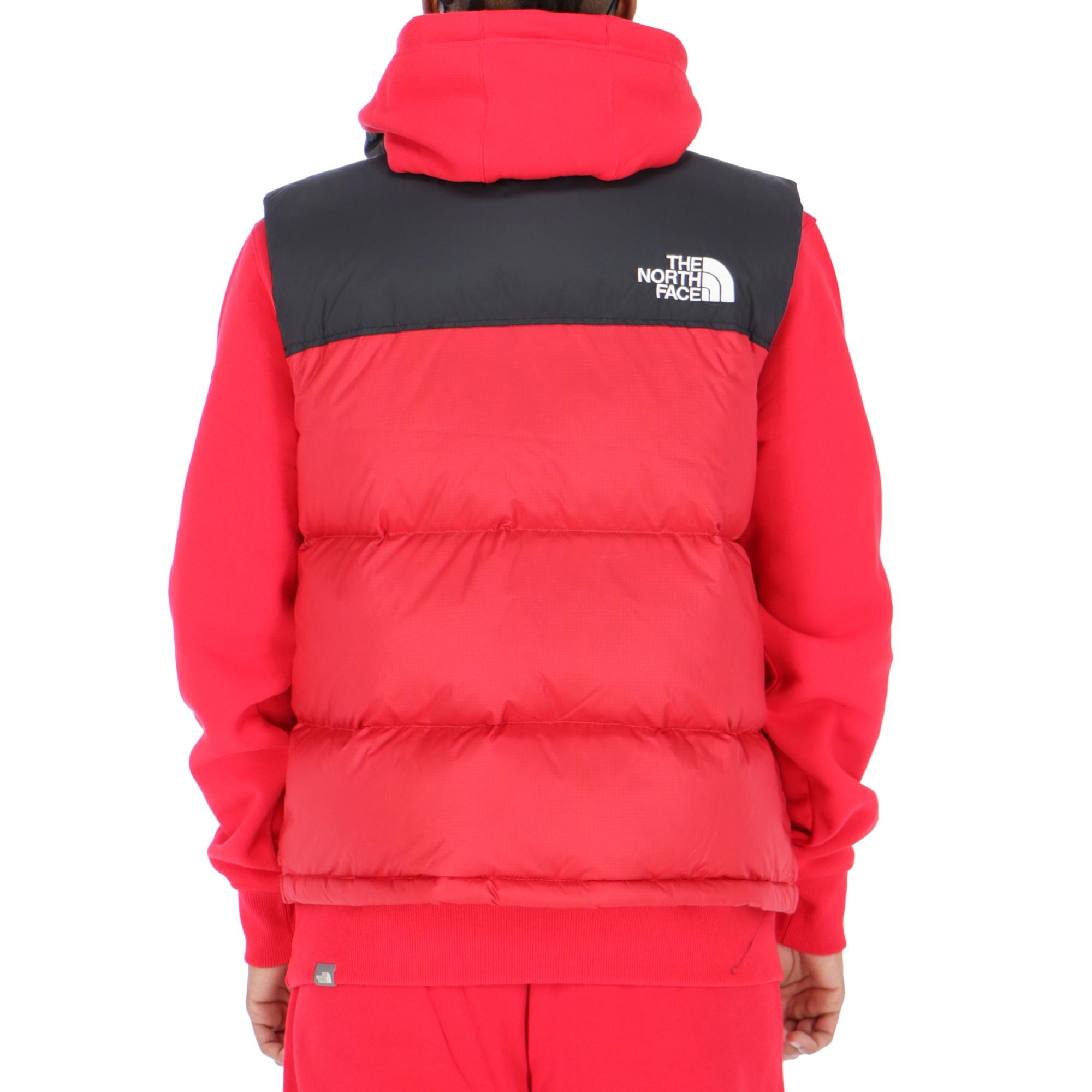 fc8d5cc78 where to buy north face nuptse vest red b6fe4 7eeca
