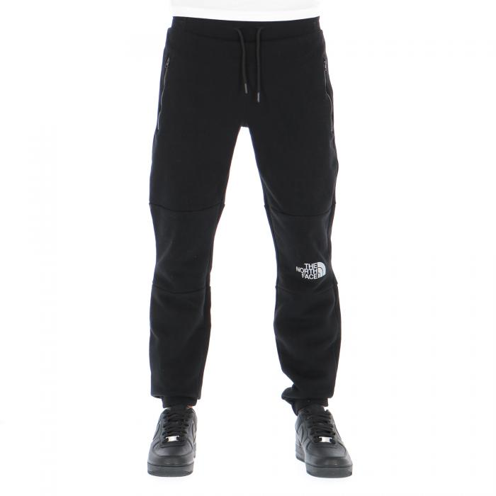 the north face pantaloni black