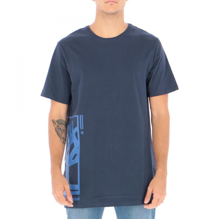 timberland t-shirt e canotte black iris