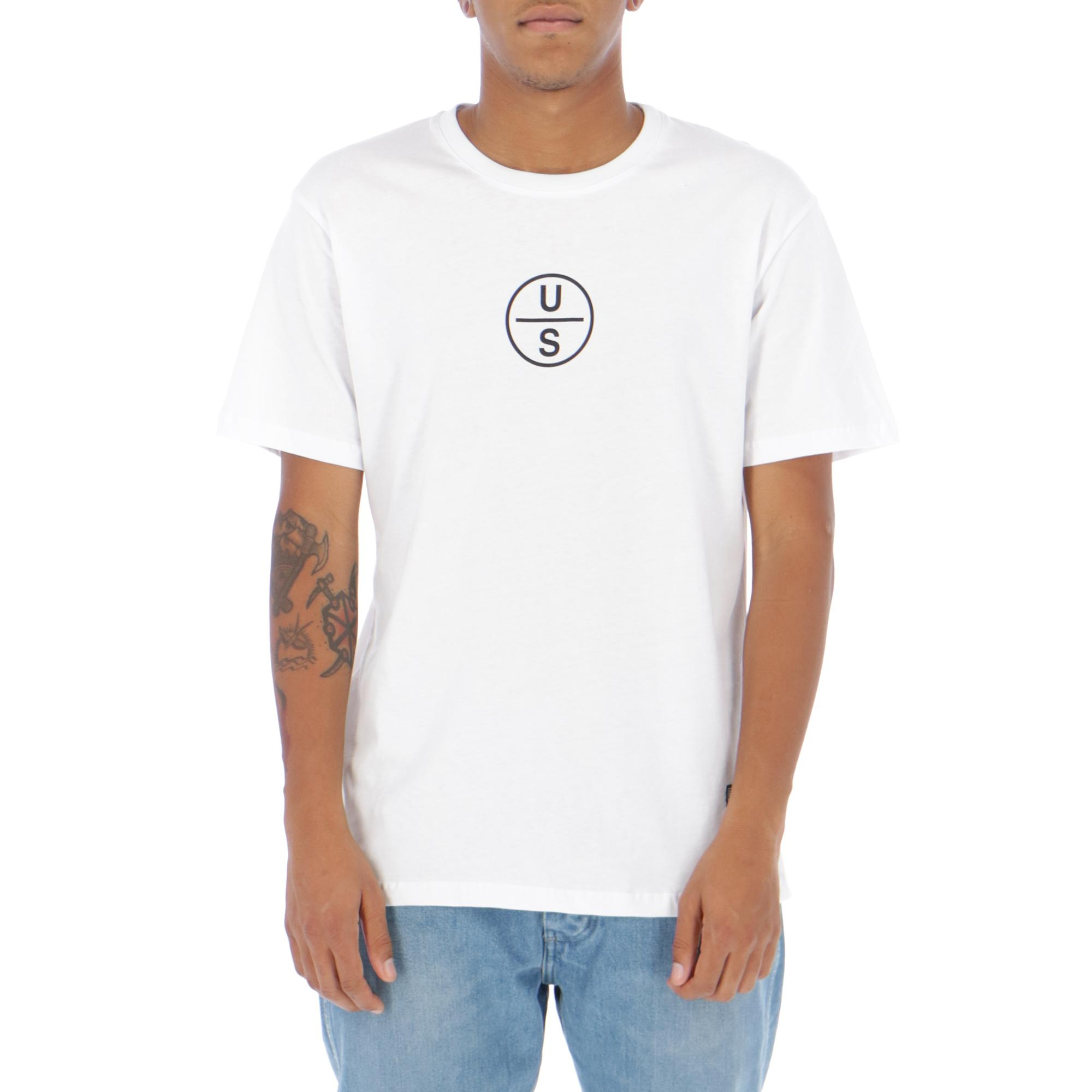 Upstream Circle T-shirt WHITE