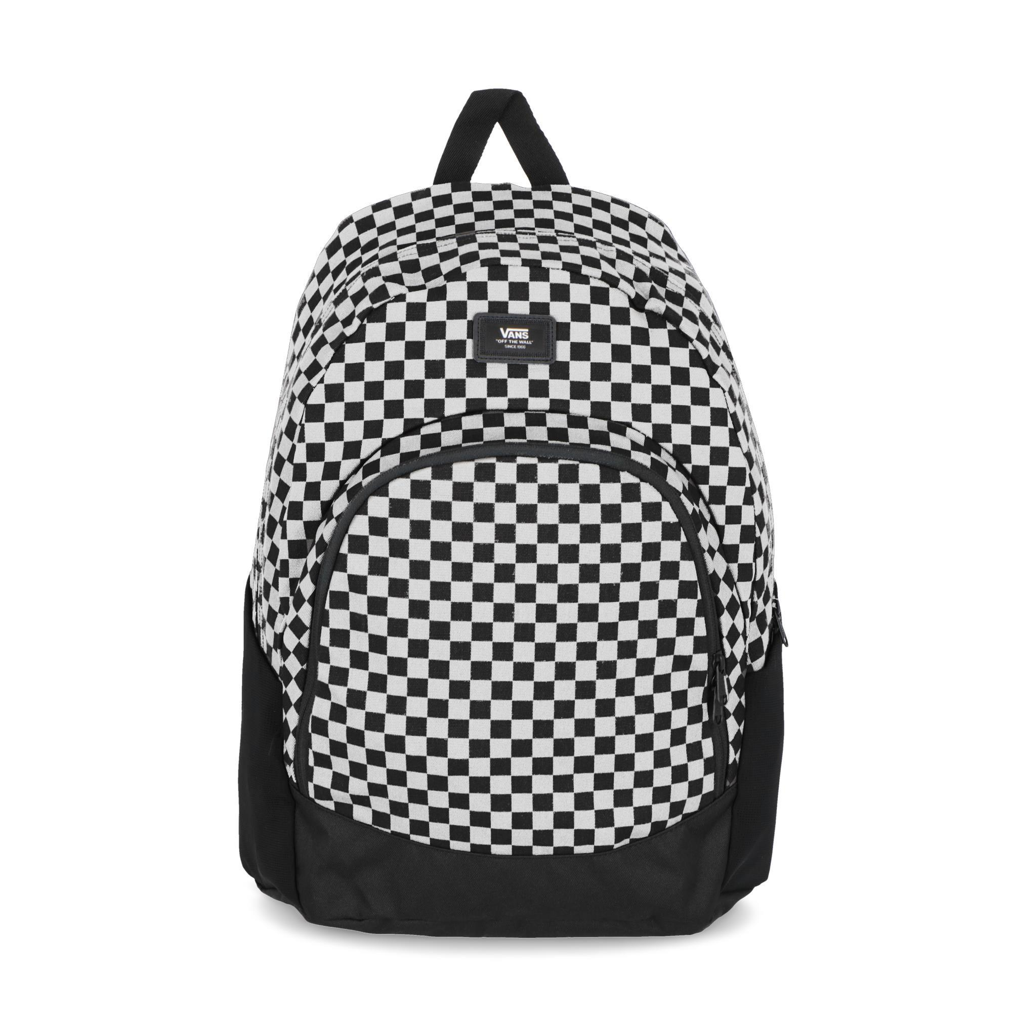 e4b5430c5c Vans Van Doren Original Backpack Black White | Treesse