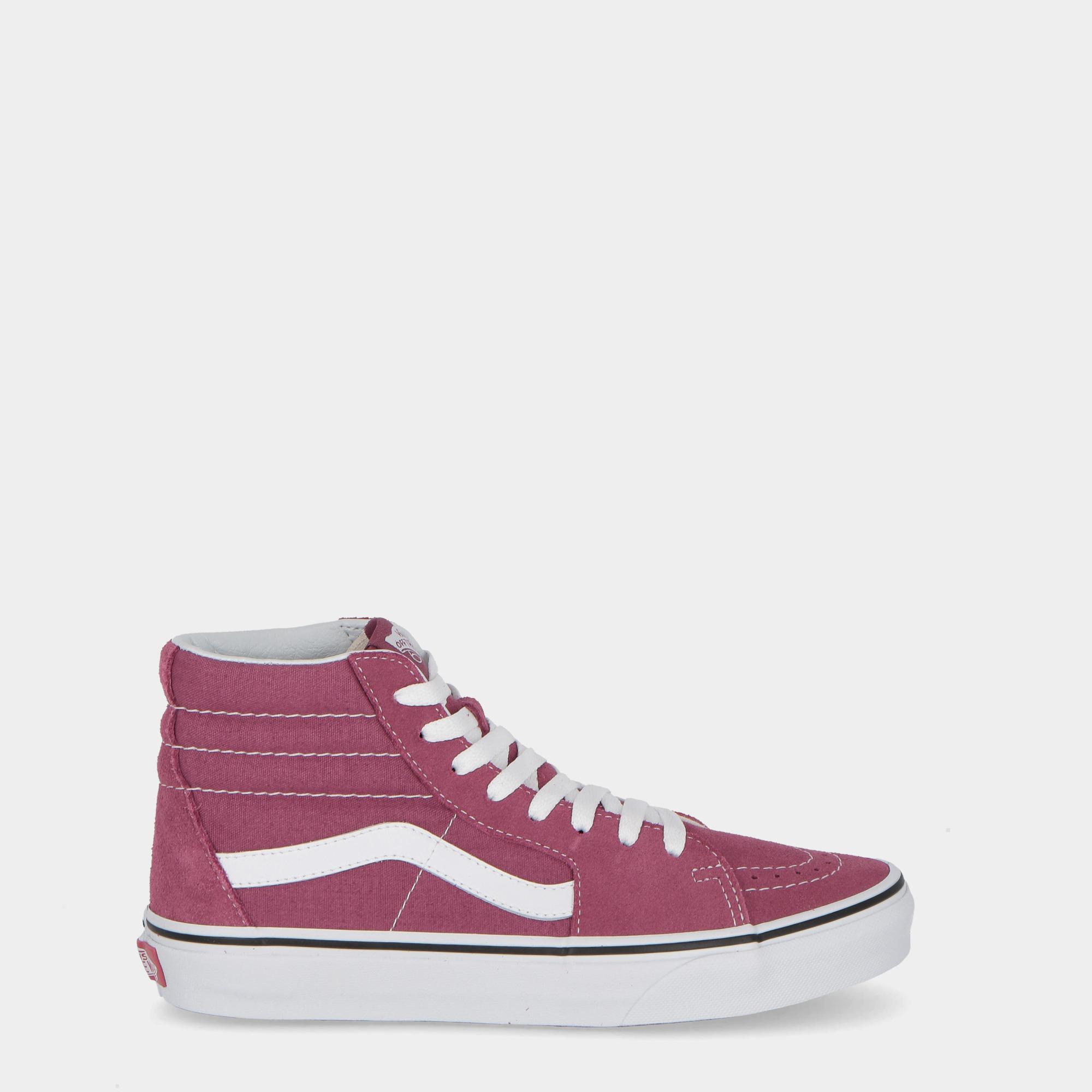 981163cc2ce2 Vans Color Theory Sk8-hi Dry Rose