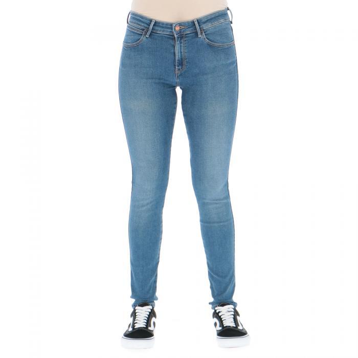 wrangler pantaloni perfect blue