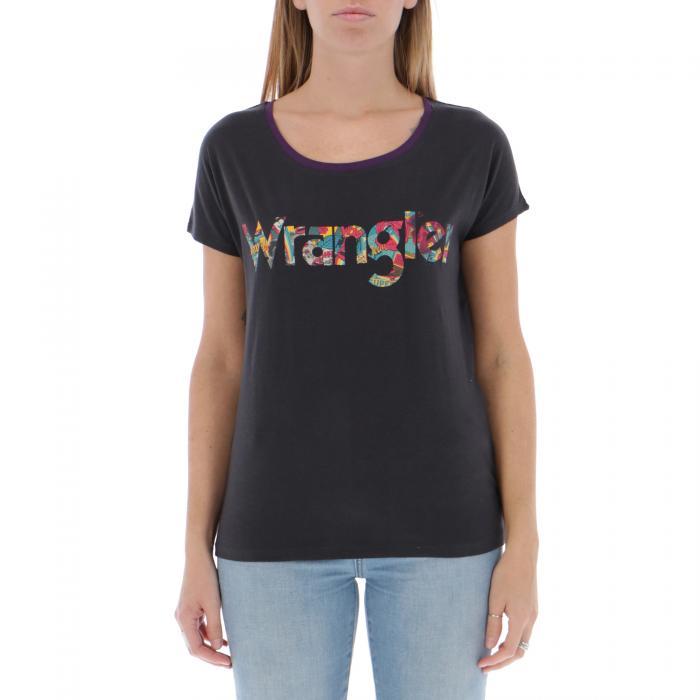 wrangler t-shirt e canotte dark navy