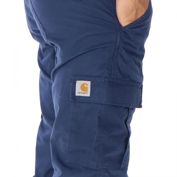 carhartt pantaloni blue rinsed