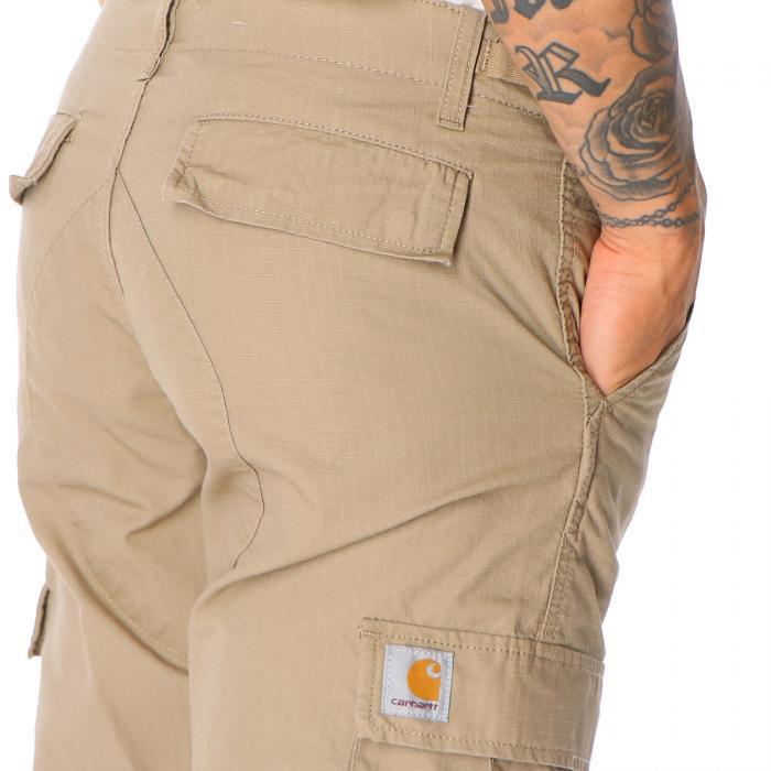 carhartt pantaloni leather rinsed
