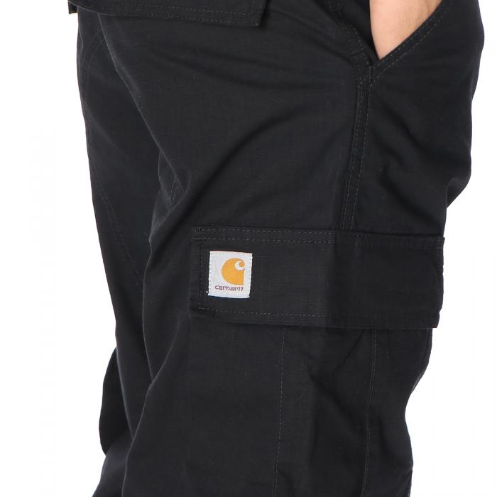 carhartt pantaloni black rinsed