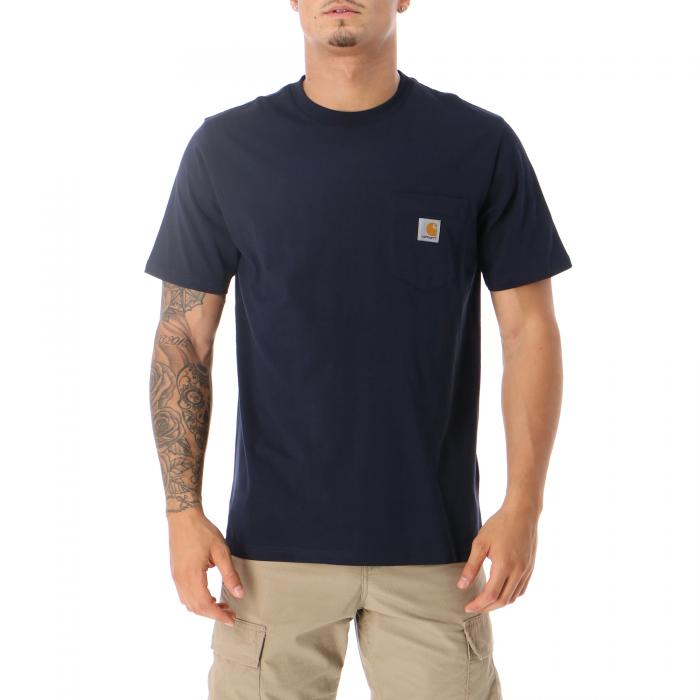 carhartt t-shirt e canotte dark navy