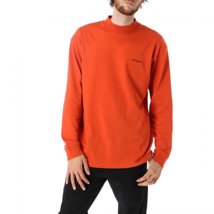 carhartt t-shirt e canotte brick orange black