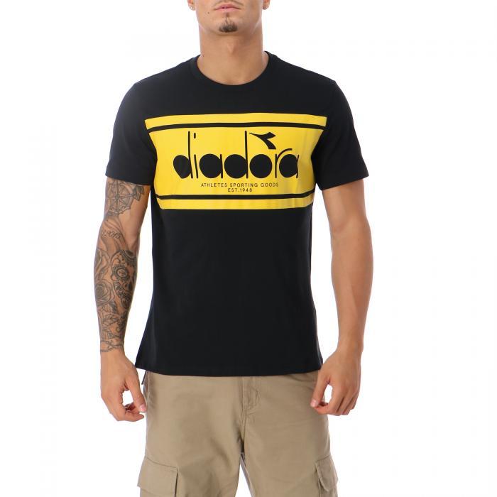 diadora t-shirt e canotte black sulphur