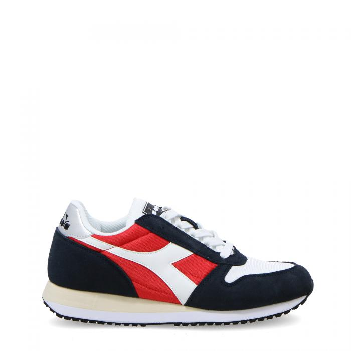 diadora scarpe lifestyle blue nights/tomato
