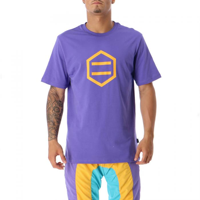 dolly noire t-shirt e canotte purple yellow