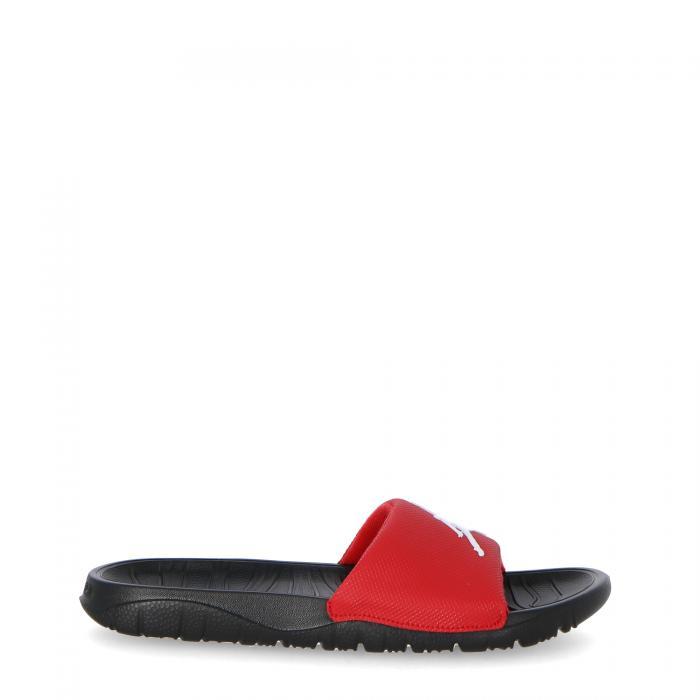 jordan sandali e ciabatte gym red white