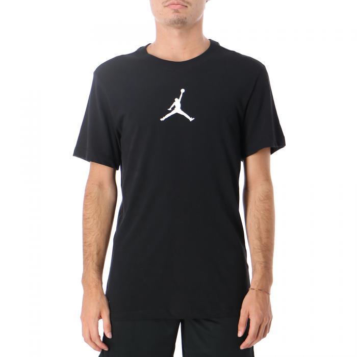 jordan t-shirt e canotte black white