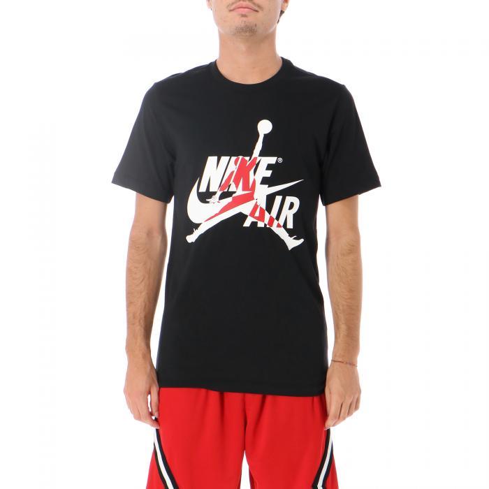 jordan t-shirt e canotte black gym red