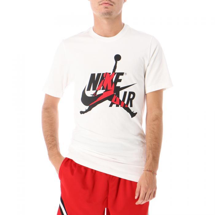 jordan t-shirt e canotte white gym red