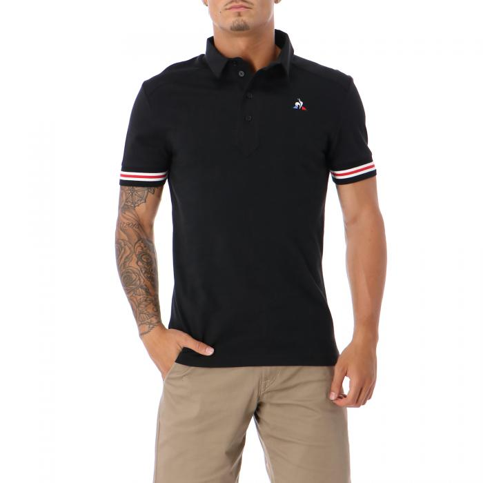 le coq sportif polo black