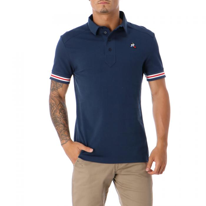 le coq sportif polo dress blue