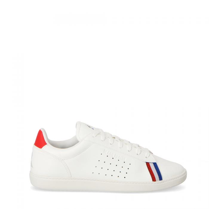 le coq sportif scarpe lifestyle optical white pure red