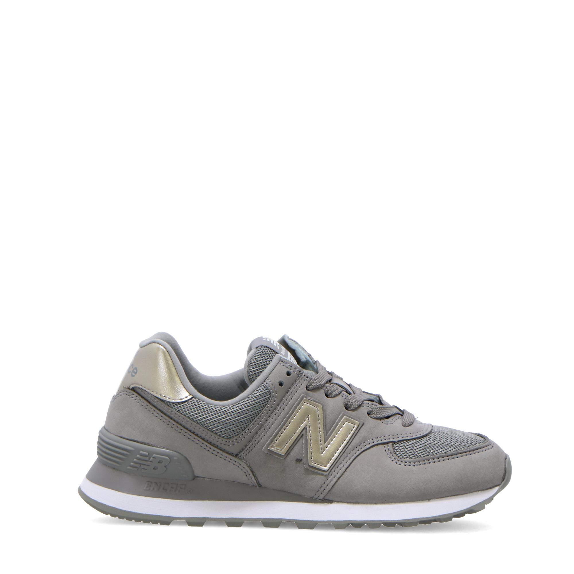 uk availability 5aa57 182e9 NEW BALANCE 574 METALLIC LEATHER