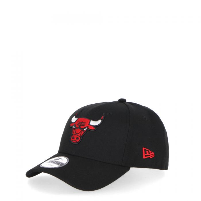 new era cappelli black red