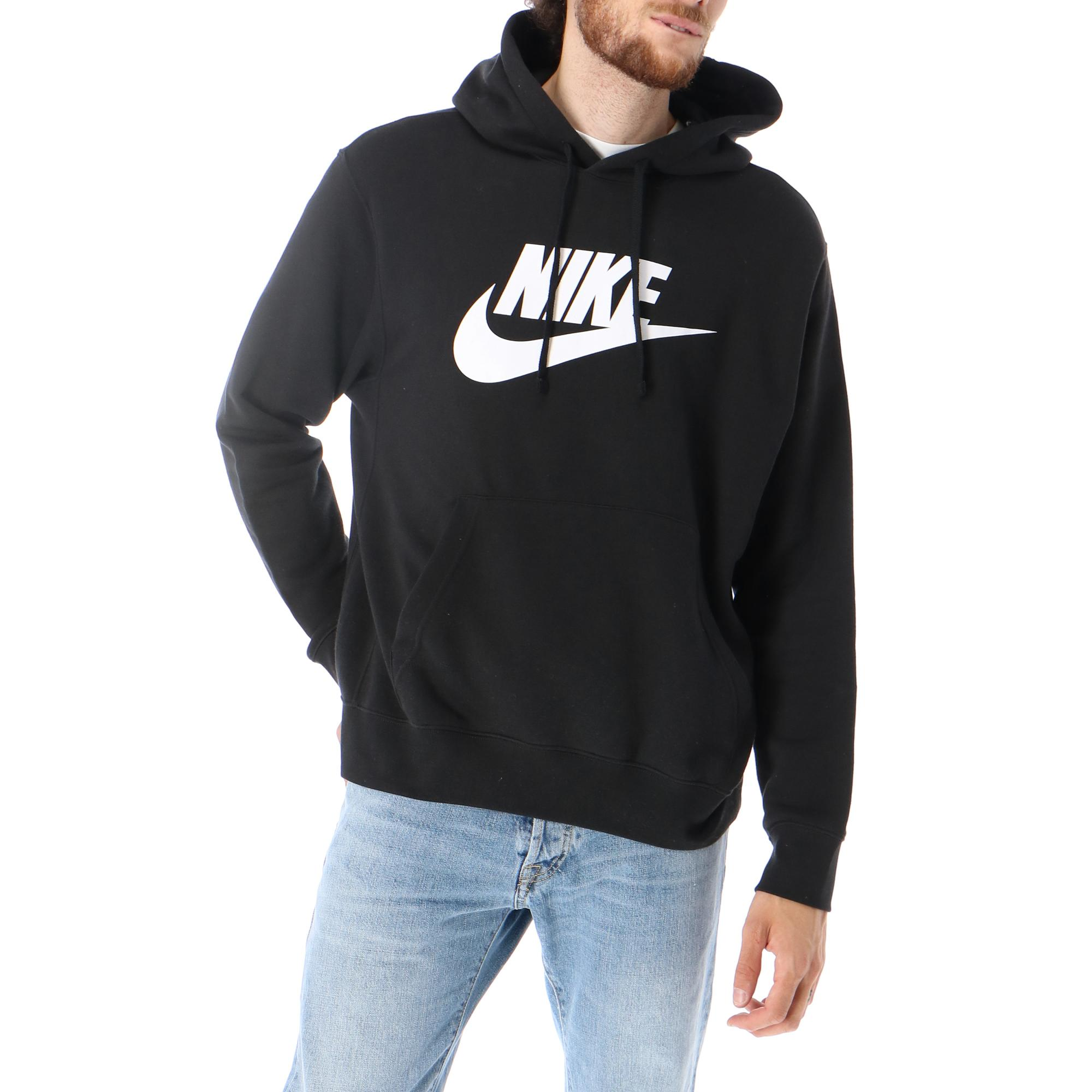 Hooded sweatshirt Nike M NSW CLUB HOODIE PO BB GX