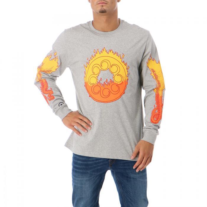 octopus t-shirt e canotte light grey
