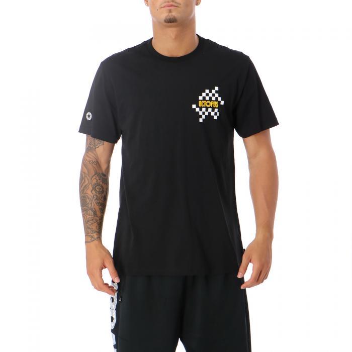 octopus t-shirt e canotte black