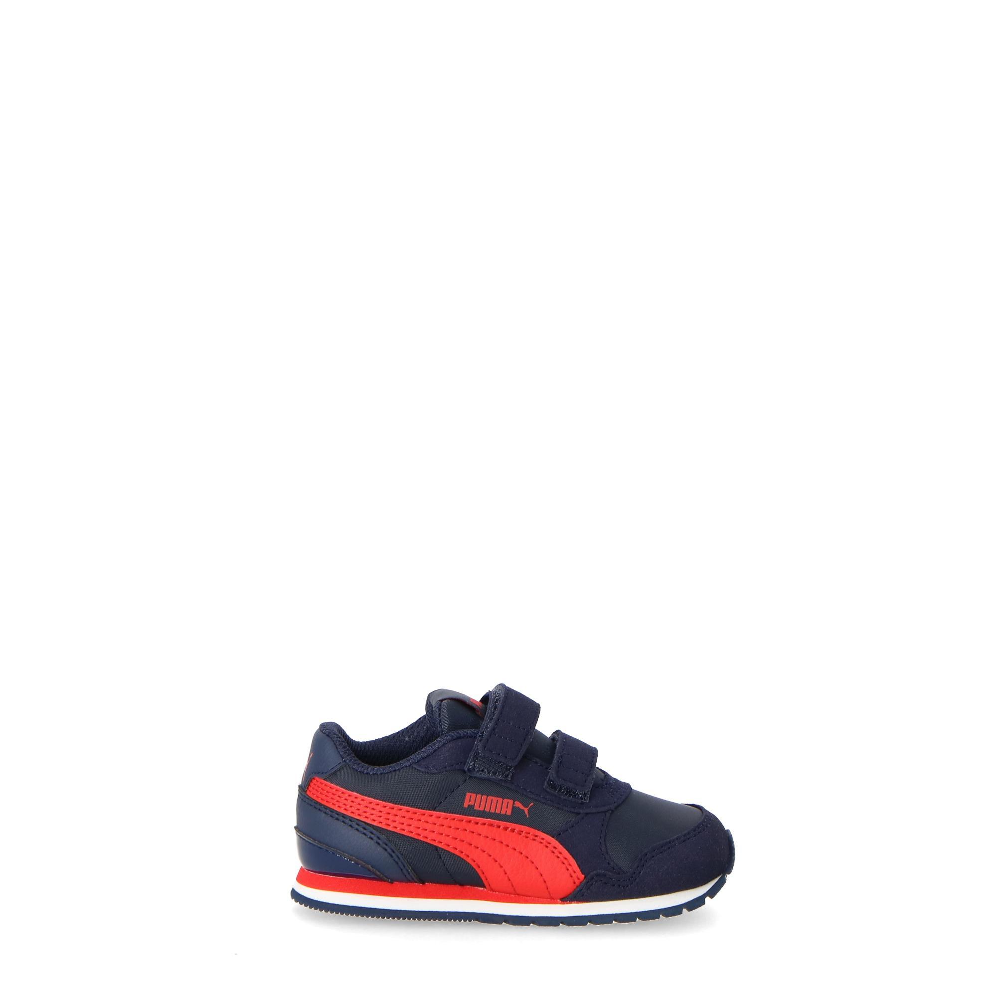 49581e8ea557d Puma St Runner V2 - Kids Peacoat Ribbon Red