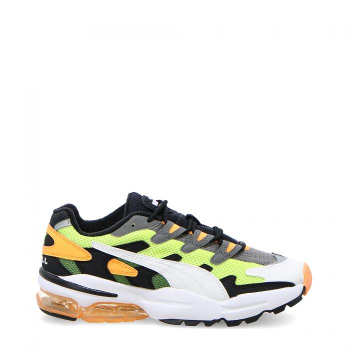 puma scarpe lifestyle yellow alert fluo orange