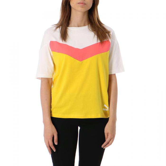 puma t-shirt e canotte sulphur