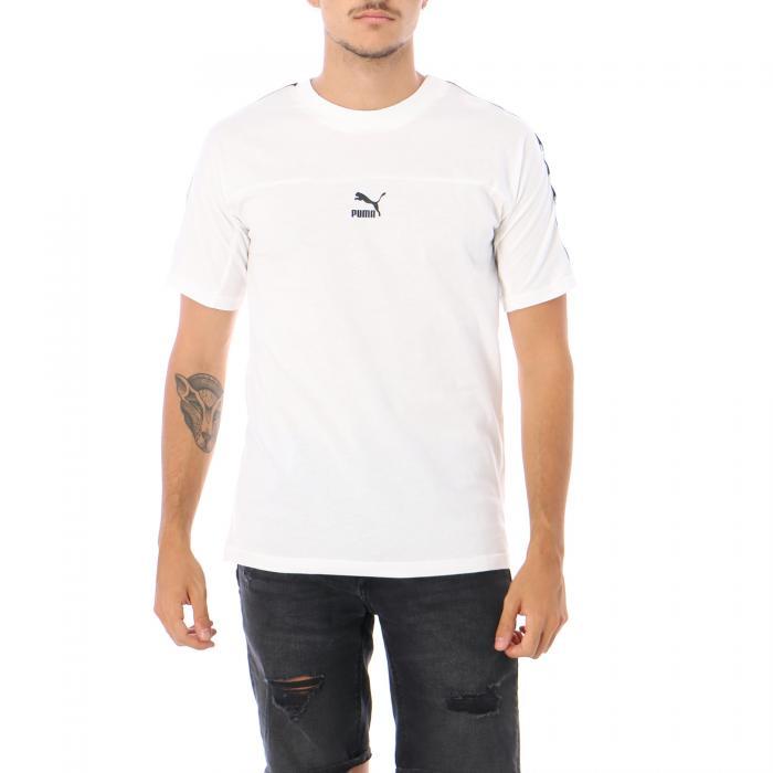 puma t-shirt e canotte white