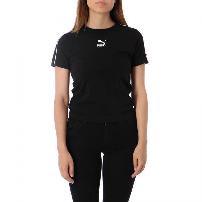 puma t-shirt e canotte puma black