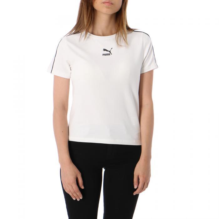 puma t-shirt e canotte puma white