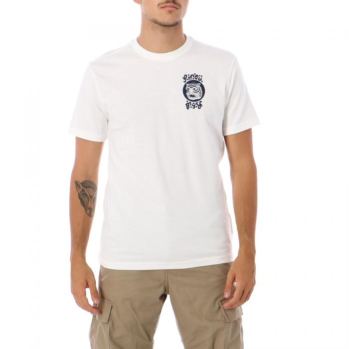 rvca t-shirt e canotte antique white