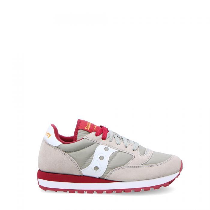 saucony scarpe lifestyle grey/red
