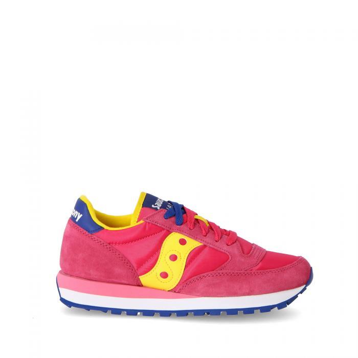 saucony scarpe lifestyle pink/yellow