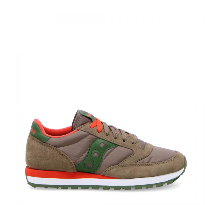 saucony scarpe lifestyle light brown/green