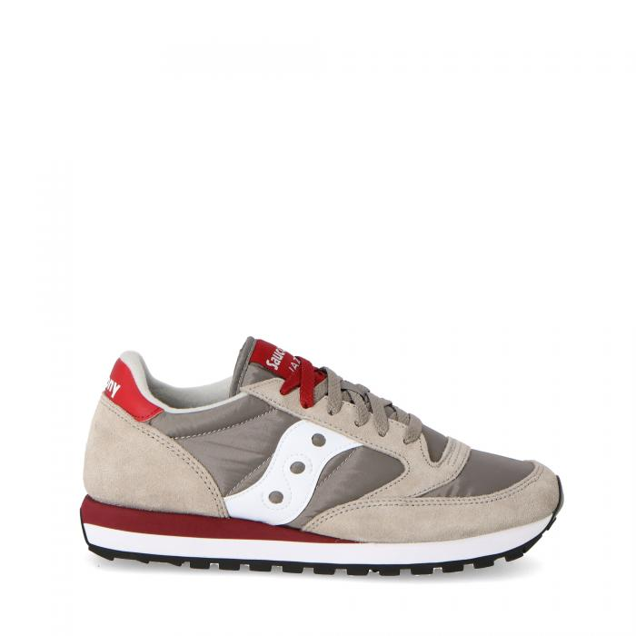 saucony scarpe lifestyle grey/red