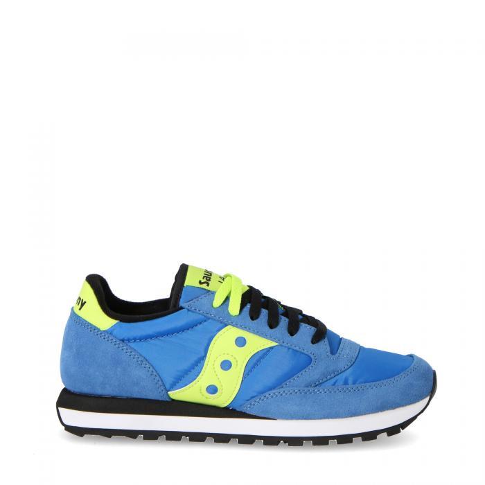 saucony scarpe lifestyle blue/bright yellow