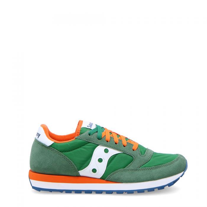 saucony scarpe lifestyle green/orange