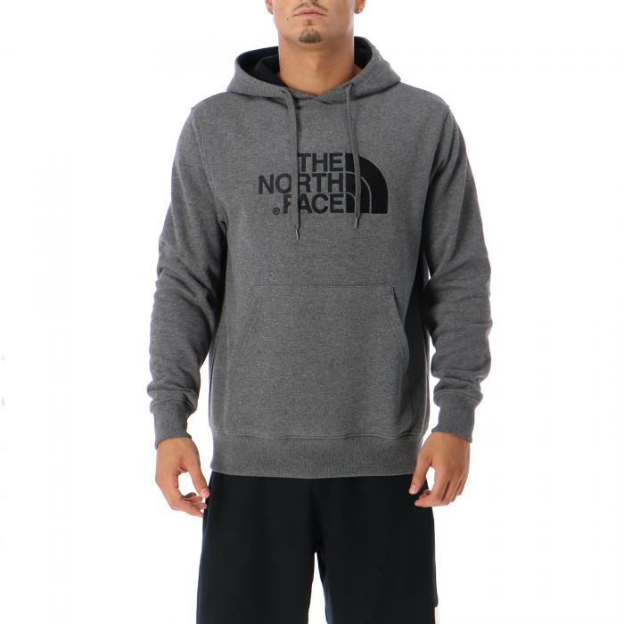 the north face felpe tnf medium grey tnf black