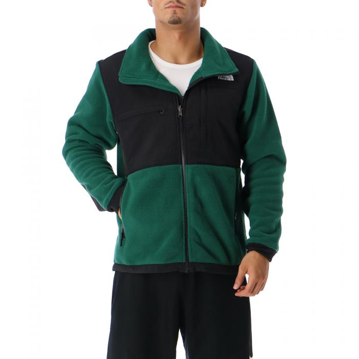 the north face giacche night green