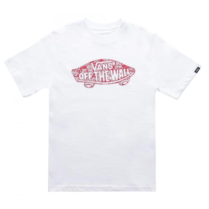 vans t-shirt e canotte white fountain vly floral