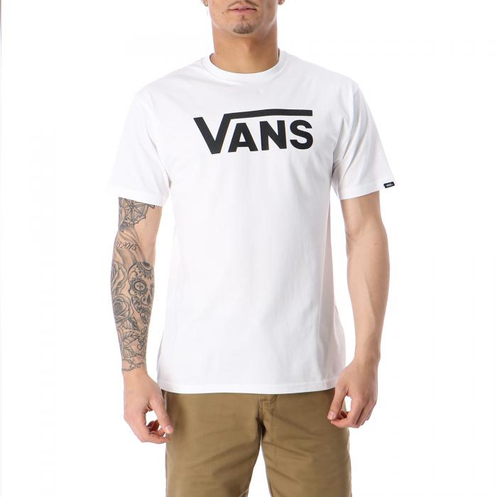 vans t-shirt e canotte white black
