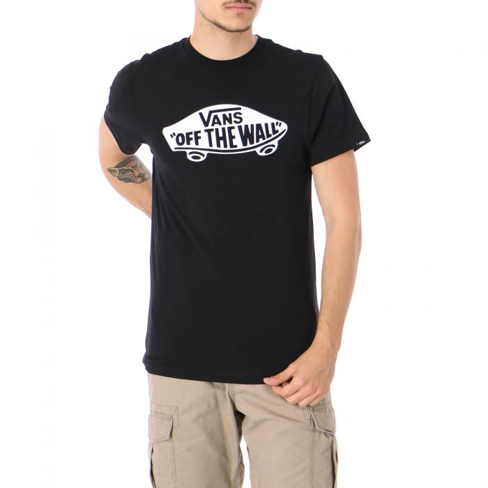 vans t-shirt e canotte black white